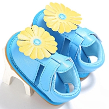 Newborn Baby Kids Girls Flowers Design Shoes Toddler Soft Sole Shoes Sandals