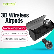 LEBAIQI QCY Q29 BLUETOOTH EARPHONES MINI WIRELESS STEREO HEADSET WITH CHARGING BOX