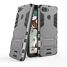 For Xiaomi Redmi 6 Case Redmi 6 Cover Armor Hybrid Shockproof Hard PC + Soft Silicon Luxury Phone Cases For Xiaomi Redmi6 5.45''