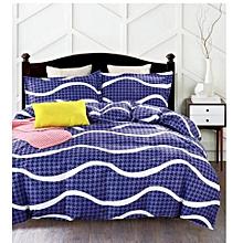 Duvet Cover 100% Cotton Blue