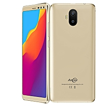 AllCall S1, 2GB+16GB, Dual Back Cameras + Dual Front Cameras, 5000mAh Battery, 5.5 inch Android 8.1 MTK6580A Quad Core, Network: 3G, OTG, Dual SIM (Gold)