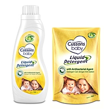 Baby Liquid Detergent Buy 750ml, get 700ml Free.