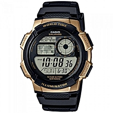 Rubber Straps Digital Men's Watch