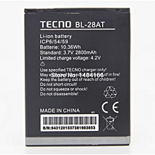 Replacement battery for Tecno Y3 BL-28AT