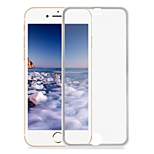 3D Toughened Glass Curved Metal Edge Shatterproof Full Screen Protective Film For IPhone 7 4.7 Inch