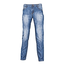 Blue Boys Jeans With 5 Pockets