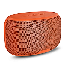 NewRixing NR - 4015 Wireless Bluetooth Stereo Speaker Subwoofer Mini Player-ORANGE