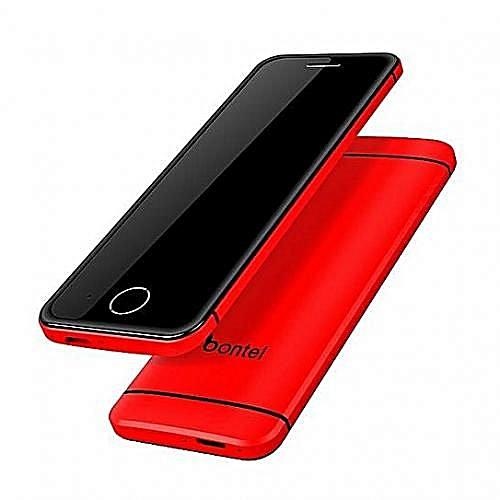 Little Lover L2 -Touch keypad -World slimmest- Dual Sim -Red