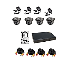 Analogue 4 camera CCTV Solution Pack