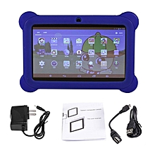 7 inch Screen Children Tablets 2G+16G A33 Quad Core for Android 4.4 Tablet PC blue