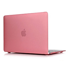 """For 12"""" Macbook Case, Matt Hard Rubberized Cover For A1534 Macbook 12 Inch, Pink"""