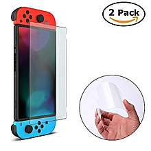 Nintendo Switch Screen Protective Glass, Full Coverage Screen Protector For Nintendo Switch 2017, 2 Pack