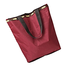 guoaivo Canvas Tote Shopping Bags Large Capacity Canvas Beach Bag D