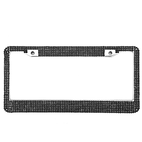 Buy Generic Artificial Diamante USA License Plate Frame Stainless ...