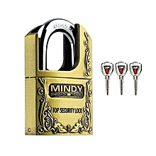 Secure Mindy Hardened Steel -Durable Padlock AF4- 40