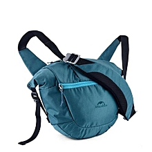8L Unisex Outdoor Messenger Bag Multifunctional Waterproof Bag(Blue)