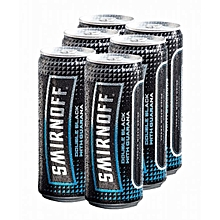 Double Black with Guarana Ice Can  - 330ml six pack