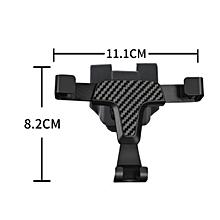 Phone Holder Car Air Vent Power Socket Mount for Benz GLA GLC CLA C-Class 360-Degree Rotating Mobile Phone Mount Holder LIMEI