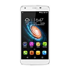 Heat8 4G 5.5 Inch 720*1280 HD Touch Screen Quad Core Smart Phone-white