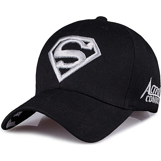 ad9055f1ed8 UJ Fashion Trendy Baseball Cap Men Women Hat Summer Outdoor Sun Visor-black    white