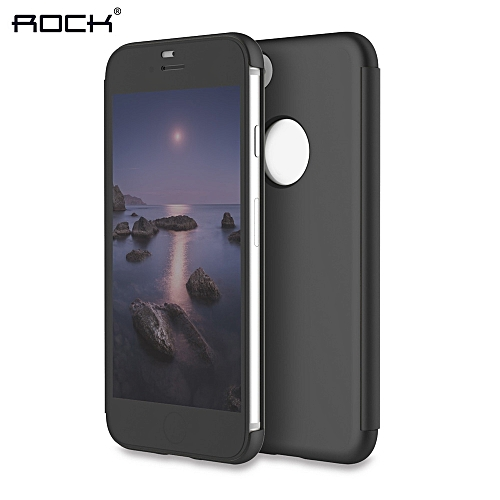 ROCK Dr.V Series Minimalist Ultra Slim Smart Cover Flip Case For IPhone 7