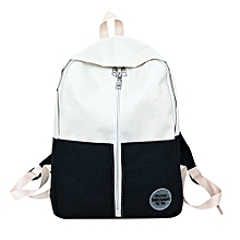 guoaivo Fashion Backpack Teenage Girls Boys School Backpack Bag Patchwork Students Bags