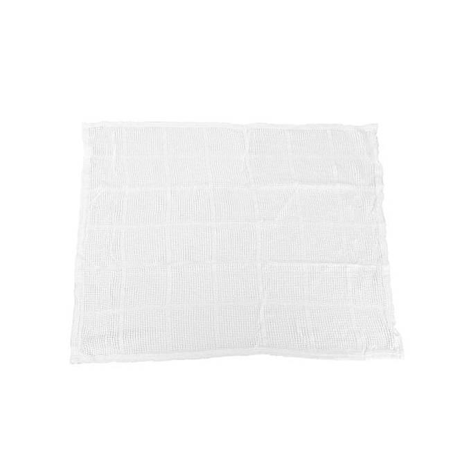 Freebang 100X80cm Cotton Baby Cellular Soft Blanket Cot Bed Mosses Pram White .