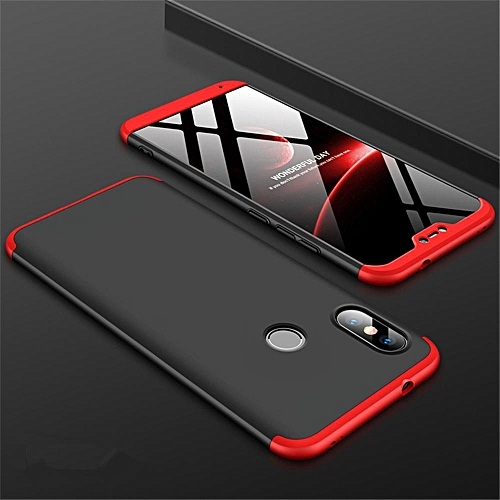 quality design 3de54 8f0bc For Xiaomi Mi A2 Lite Case 360 Degree Full Body Shockproof Protective Phone  Case 3 In 1 Armor Hard PC Back Cover For Mi A2 Lite 223826 Color-1
