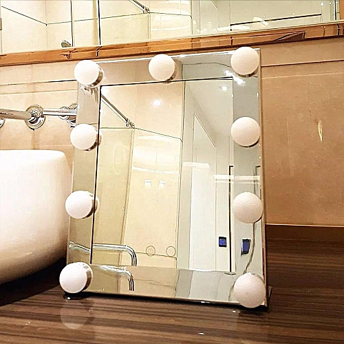 Generic Led Vanity Lighted Hollywood Makeup Mirror With Lights
