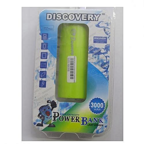 Power Bank 3000mAh - Yellow-Green