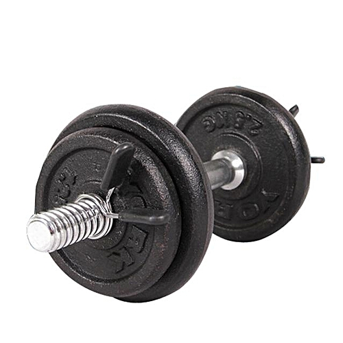 douajso 2Pcs 25mm Barbell Gym Weight Bar Dumbbell Lock Clamp Spring Collar Clips