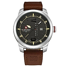 new luxury brand men sport watches mens quartz clock man army military leather wrist watch relogio masculino