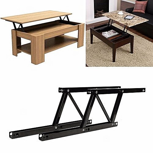 Lift Top Coffee Table Mechanism.1pair Lift Up Top Coffee Table Lifting Frame Mechanism Spring Hinge Hardware New