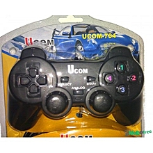 Single PC UCOM Game Pad – Black