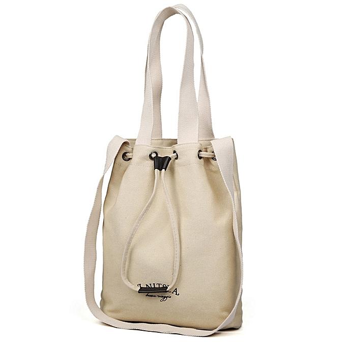 Hiamok Women Fashion Handbag Canvas Shoulder Bag Large Tote Ladies Purse  Shopping Bag 5bdc2116a