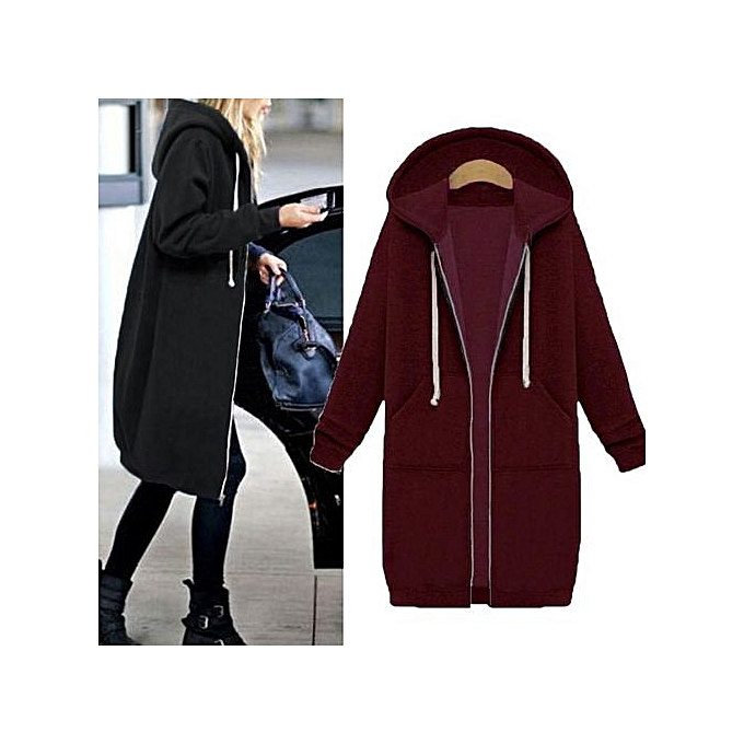 b69ea31c1 ZANZEA ZANZEA New Arrival Winter Coats Jacket Women Long Hooded ...