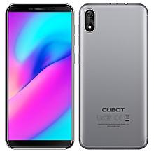 Cubot J3 3G Smartphone 5.0 inch Android GO MT6580 Quad Core 1.3GHz 1GB RAM 16GB ROM 8.0MP Rear Camera 2000mAh Detachable Battery Fingerprint Scanner-GRAY