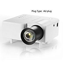 HP-UC28+ Mini Portable HD Projector Home Cinema Theater Upgraded HDMI Interface white
