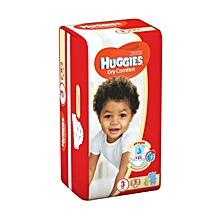 Dry Comfort Diaper Size:3 - 9 Diapers