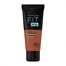 Maybelline Fit Me Matte And Pore less Foundation 30 ml - Mocha 360