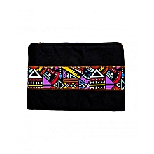 "Ladies Clutch Purse Wallet Mobile Phone Wristlet Wallet Large Capacity iPad Pro 10.5 Sleeve, 10.5 Inch iPad Pro - 9.7"" New iPad 2017 - iPad Pro - iPad Air 2 - Samsung Galaxy Tab Travel Sleeve Bag with Accessory Pockets(Black)"