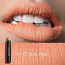 FOCALLURE Waterproof Matte Lipstick Pen Long Lasting Moisturizer Smooth Sexy Lipgloss Makeup #7
