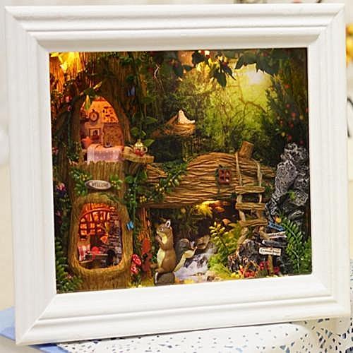 Buy Generic Cuteroom Diy Dollhouse Kit Photo Frame Design Decor