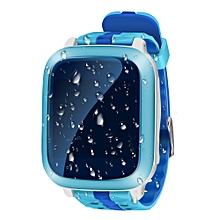 Waterproof GPS Smart Baby Watch Blue