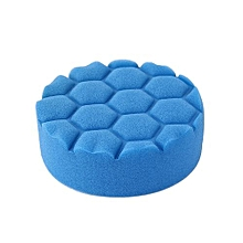 5Pcs 3/4/5/6/7 Inch Hexagonal Screw Thread Clean Polishing Sponge Buffer Pad