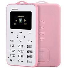 AIEK C6 1.0 Inch Card Phone Russian Keyboard GSM Bluetooth 2.0 Calendar Alarm Calculator
