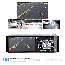 4012B 4.1 inch 1 Din Car Radio Auto Audio Stereo FM BT 2.0 Support Rear View Camera USB Steering Wheel Remote Control With/Without Camera MP5 Player