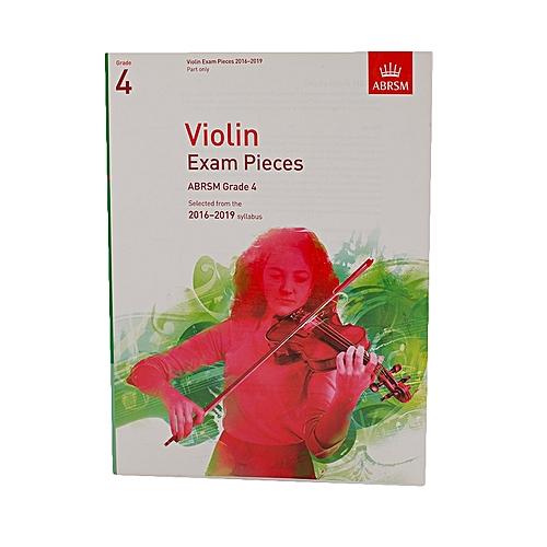 Violin Exam Pieces – Grade 4 - White