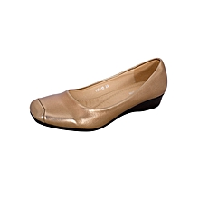 Bronze Women's Doll Shoes