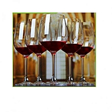 Wine Glasses Set of 6 Clear